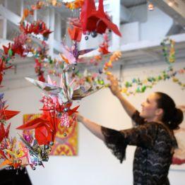 """""""Hope"""", Mixed Media Installation, Miami, 2007"""