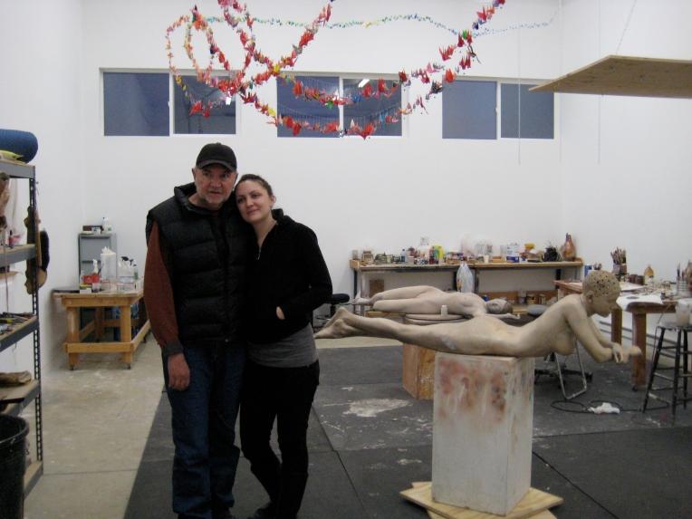 """Hope"", John DeAndrea's Studio, CO, 2008"